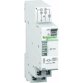 Interruptor Minutero Escalera, Schneider, 1p-16a-230v - 7min