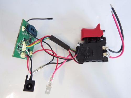 interruptor/ módulo parafusadeira gsr1000 bosch 1600a00fg7