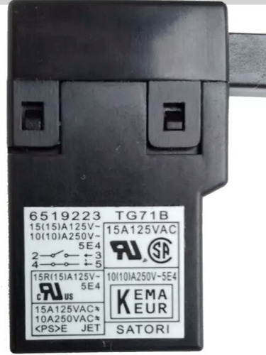interruptor original makita sa7000 cod 651922-3