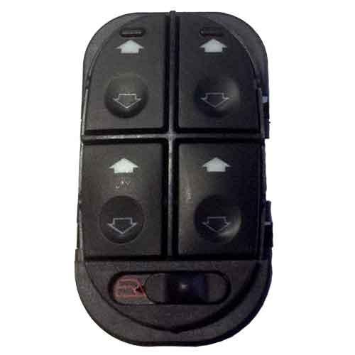 interruptor quadruplo vidro eletrico escort 1998 a 2002 *