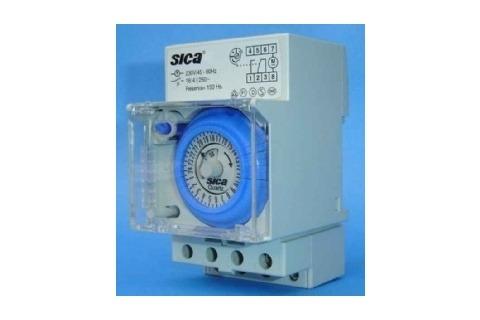dfe8ab7eaa2a Interruptor Reloj Programador Horario P riel Din 16 Amp Sica ...