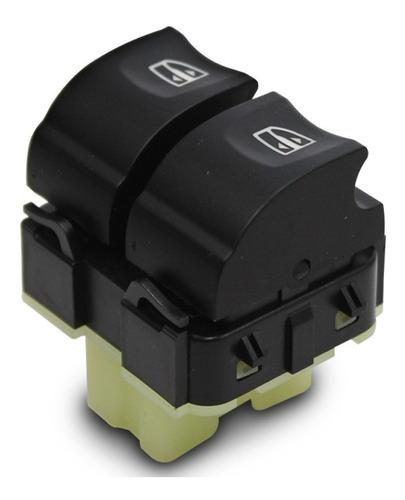 interruptor renault oroch vidro 15 16 17 18 base branca