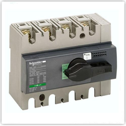 interruptor seccionador schneider interpact ins160 4 polos