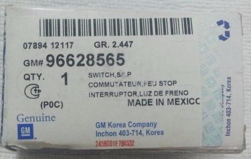 interruptor sensor de freno captiva original gm 96628565
