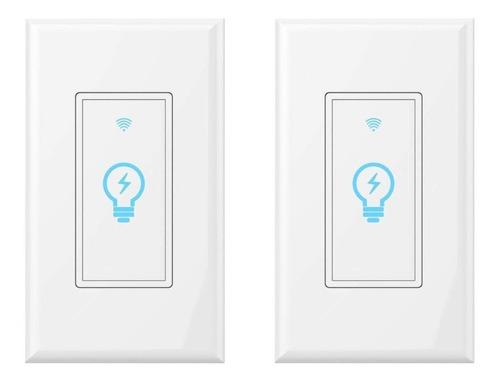 interruptor - switch de pared inteligente wifi 1 boton