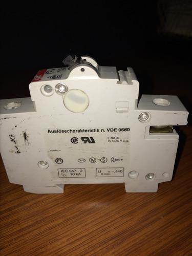 interruptor termo pastilla switch abb s271 32a vde 0660