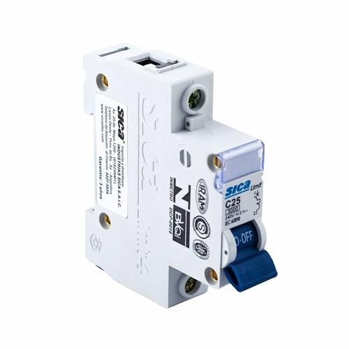 interruptor termomagnetica unipolar 2 amp sica llave termica