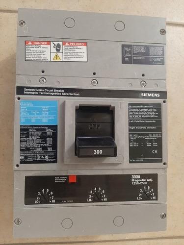 interruptor termomagnetico 300amp 3polos 600v