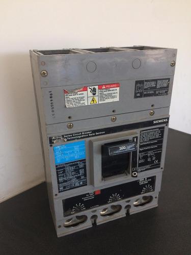interruptor termomagnetico siemens 3 x 300 a jxd63b300