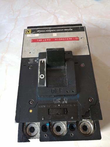interruptor termomagnético squaere d300 amperes