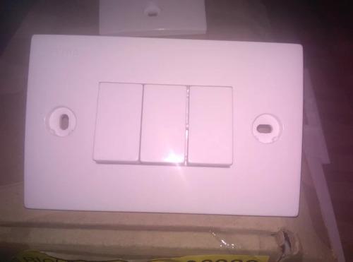interruptor triple vimar 06083