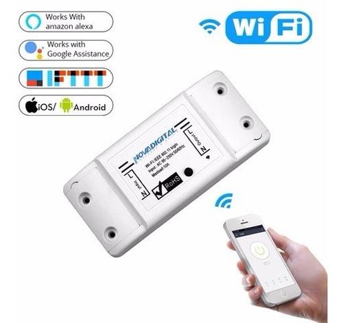 interruptor wifi automação residencial alexa google ms-101
