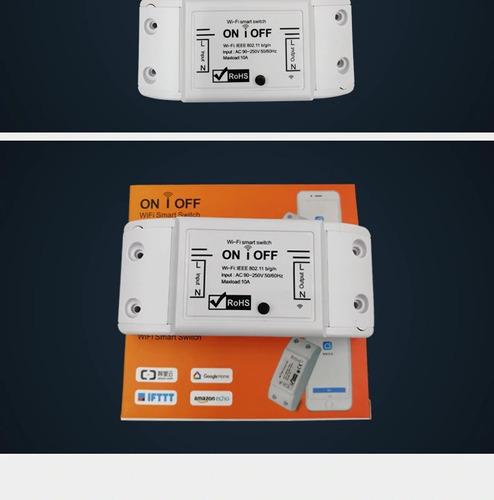interruptor wifi - switch inteligente smart home sonoff