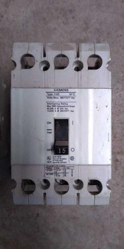 interruptores 15 amp 3 polos siemens tyod cqd