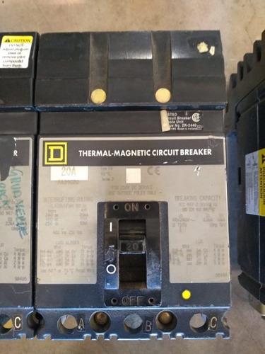 interruptores 20 amp marca square d fa34020