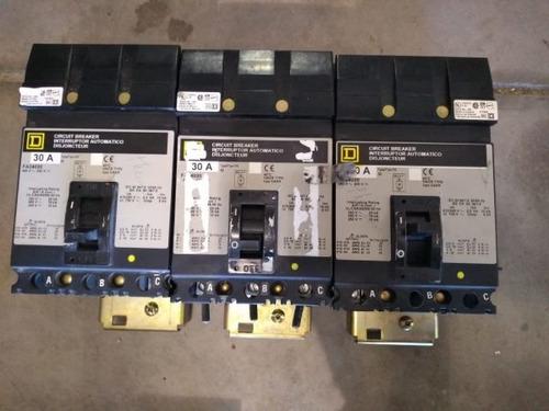 interruptores 30 amp i-line fa34030