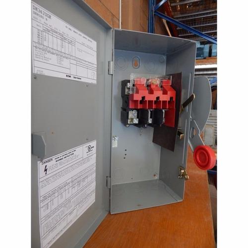 interruptores de seguridad 60 amp