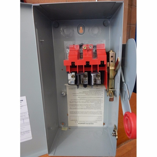 interruptores desconectadores 100 amp