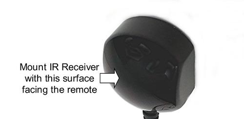 inteset technologies int-ir38tx cable del amplificador del r