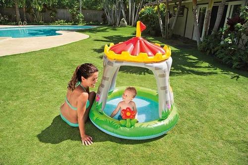 intex 57122 - piscina castillo bebe niño 122 x 122 cm