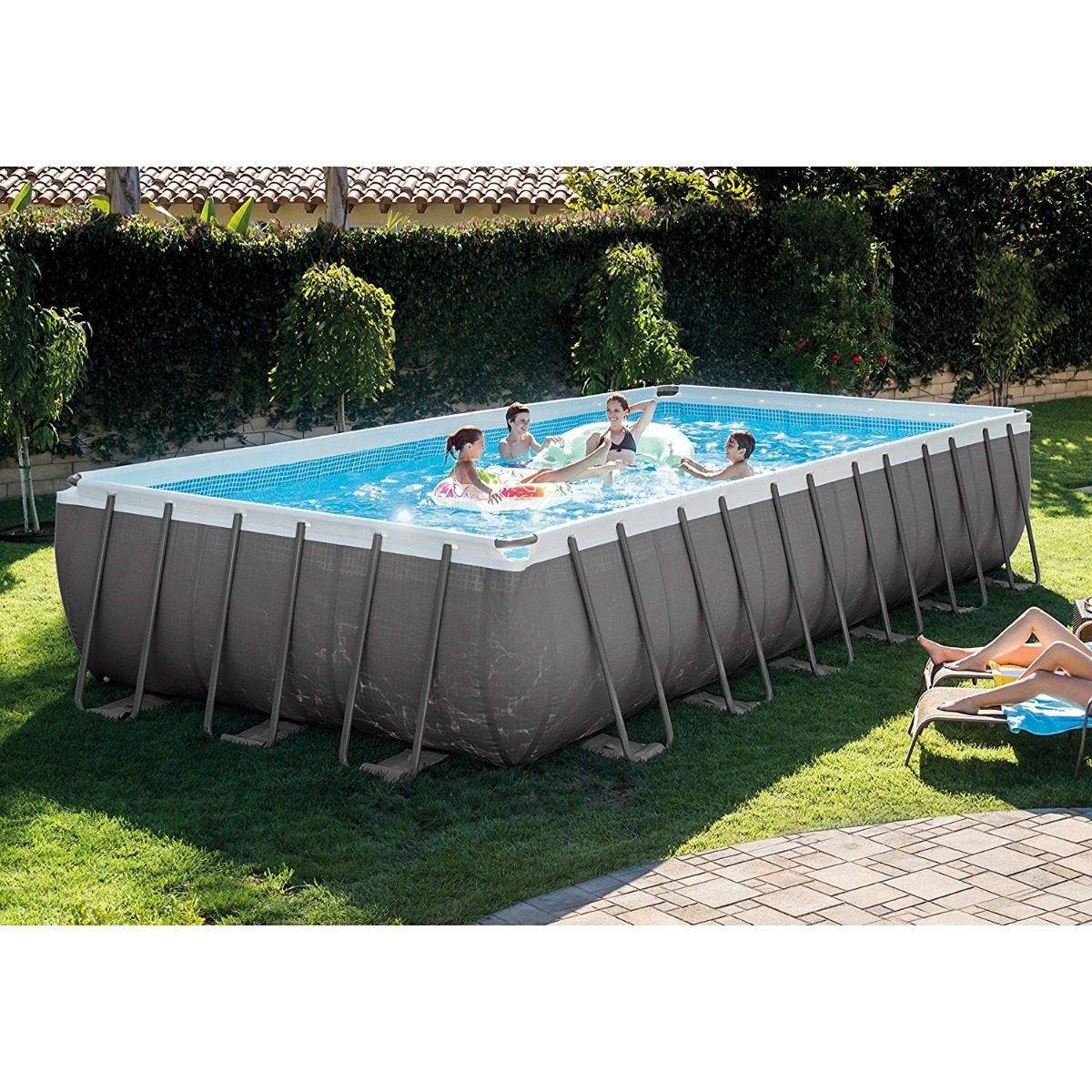Excepcional 16 Pies Piscina Intex De Ultra Marco Colección - Ideas ...
