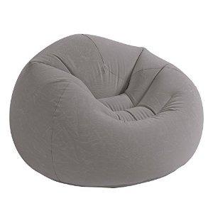 intex beanless bolsa inflable silla 42  x 41  x 27  beige