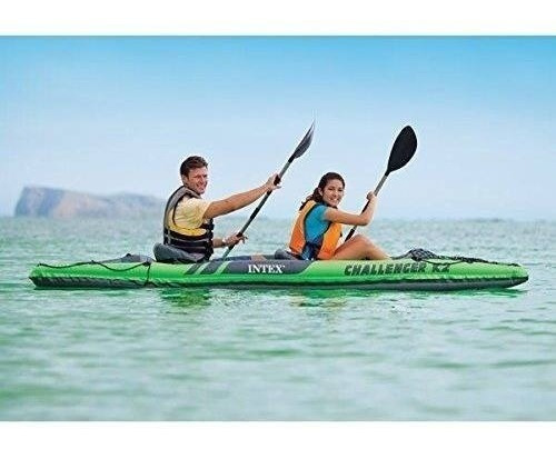 intex challenger k2 kayak inflable 2 personas con remos