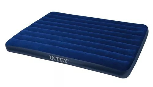 intex claasic downy airbed, queen + envio .