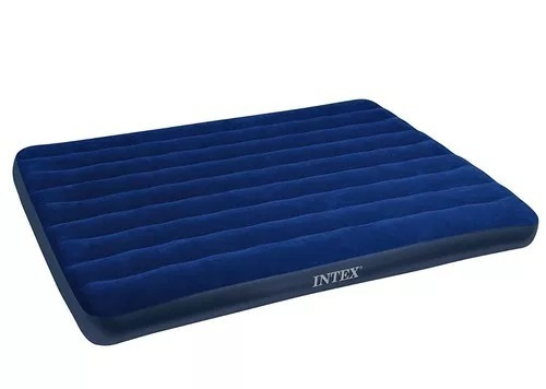 intex claasic downy airbed, queen + envio gratis