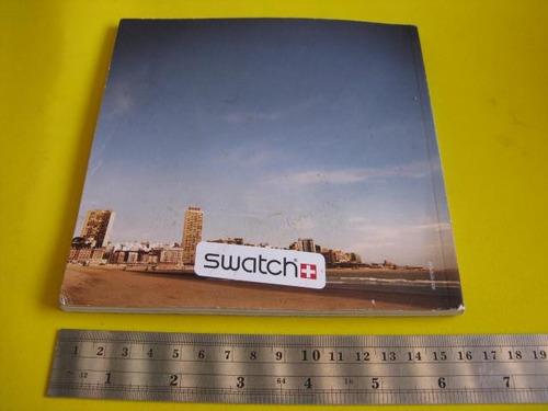 intihuatana: manual catalogo de reloj, swatch casual cj1