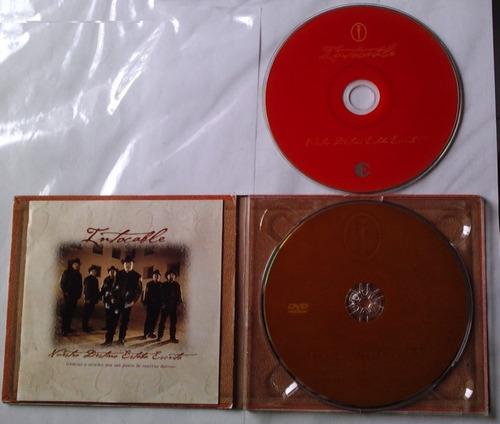 intocable nuestro destino estaba escrito digipack cd/dvd maa