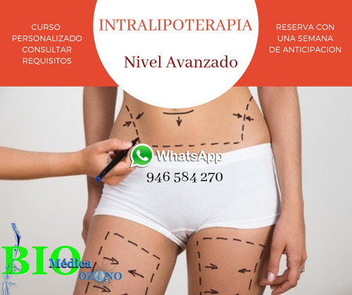 intralipoterapia nivel avanzado curso personalizado