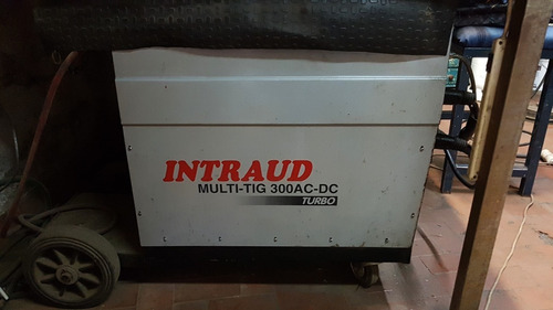 intraud multitig 300 turbo ac-dc, tubo de argon 6m3 (aparte)