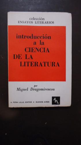 introducción a la ciencia de la literatura