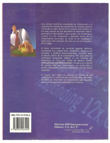 introducción a la computación / peter norton