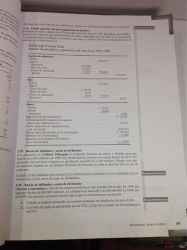 introducción a la contabilidad financiera. horngren
