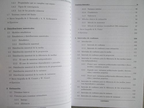 introducción a la estadística matemática - h. llinás - ecoe