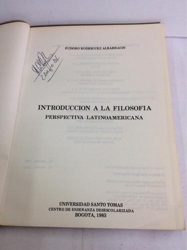 introducción a la filosofía, eudoro rodríguez albarracin