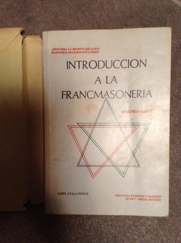 introduccion a la francmasoneria