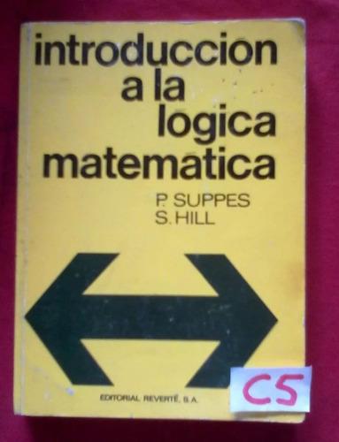introduccion a la logica matematica suppes hill