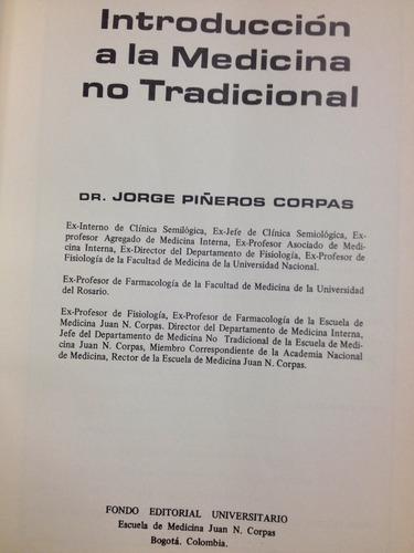 introducción a la medicina no tradicional - piñeros corpas