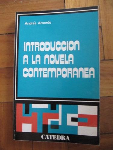introduccion a la novela contemporanea - amoros