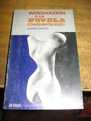introduccion a la novela contemporanea - andres amoros