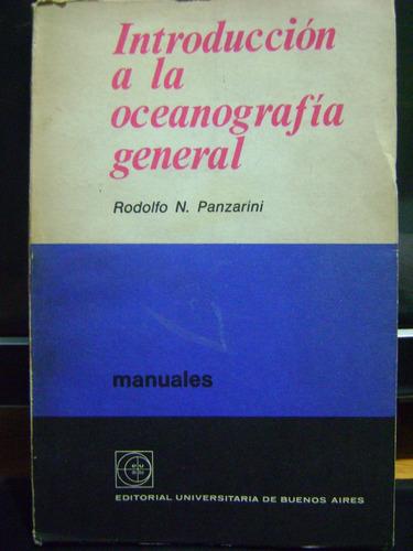 introduccion a la oceanografia general rodolfo n. panzarini