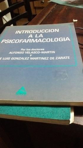 introducción a la psicofarmacología a. velasco -martín