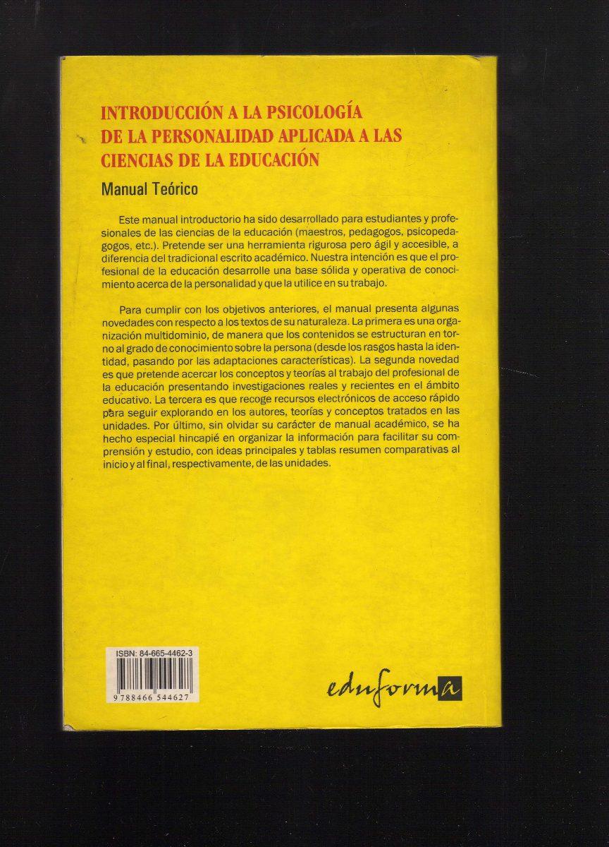 PSICOLOGIA APLICADA AL TRABAJO UNA INTRODUCCION A LA PSICOLOGIA