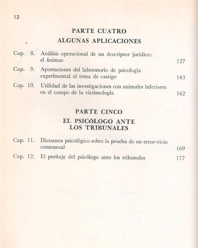 introducción a la psicología jurídica / muñoz, bayés, munné