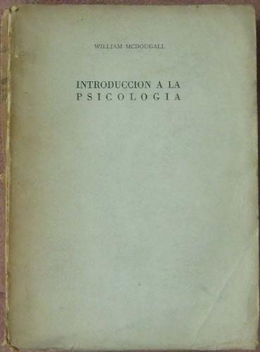 introduccion a la psicologia - mcdougall, william - paidos