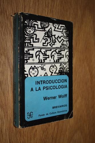 introducción a la psicología - werner wolff
