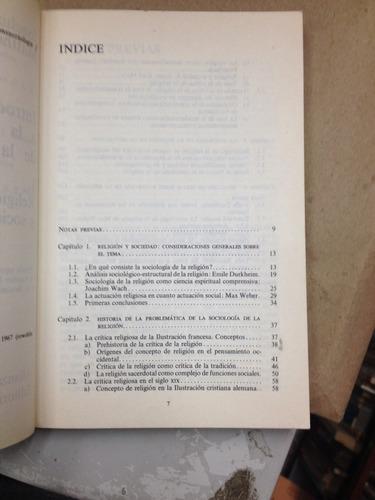 introducción a la sociología de la religión . joachim matthe
